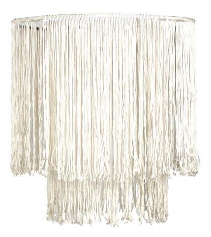 Abażur sznurkowy biały do lampy wiszącej Brasil Candellux 77-23264 Outlet