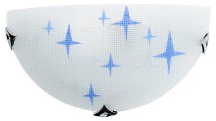 LAMPA ŚCIENNA CANDELLUX WYPRZEDAŻ 11-76680 STARS PLAFON1/2 1X60W E27 NIEB