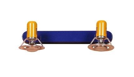 LAMPA ŚCIENNA CANDELLUX WYPRZEDAŻ 22-01668 L&H BABY SPOT LISTWA 2X40W E14  MULTIKOLOR