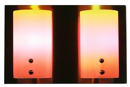 LAMPA ŚCIENNA CANDELLUX WYPRZEDAŻ 22-82148 MAGIC KINKIET PODWÓJNY NIKIEL MAT 2XG9/40W 230V