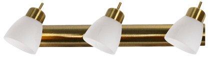 LAMPA SUFITOWA CANDELLUX WYPRZEDAŻ 93-85453 VENICE  LISTWA 3*40W G9  PATYNA BIAŁY