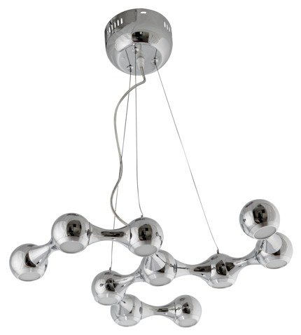 Lampa wisząca dekoracyjna chrom LED 10x3W 4000K Led 2 Candellux 30-94332