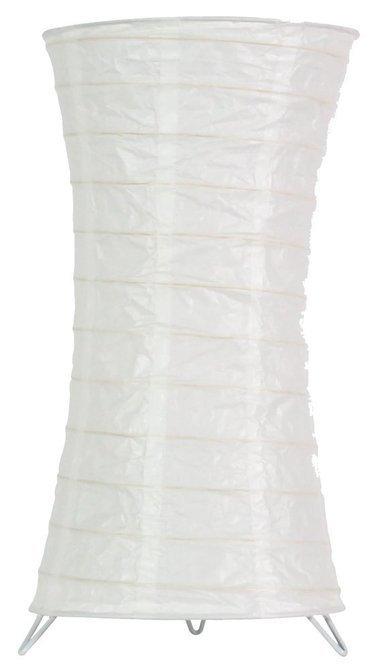 Lampka stojąca papierowa biała nocna 60W E27 Tai Candellux 5096911-00