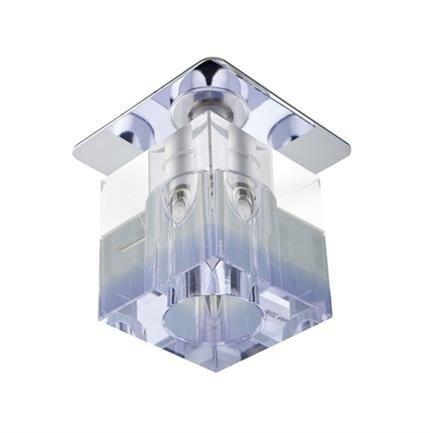 Oprawa stropowa chrom kryształ fioletowy pasek G4 20W SK-18 Candellux 2280144