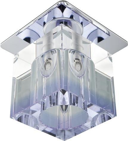 Oprawa stropowa kryształ fioletowy/chrom G4 20W SK-19 Candellux 2279971