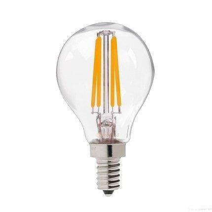 Żarówka LED dekoracyjna bezbarwna E14 4W 3000K 3064837 Candellux