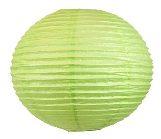 Abażur papierowy zielony kula 50cm Kokon Candellux 70-16990