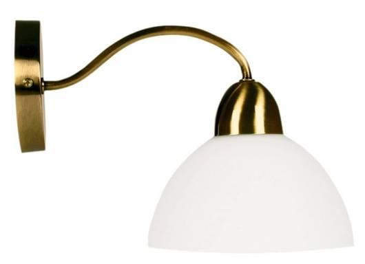 Kinkiet patynowy/biały lampa ścienna Aura 21-82551