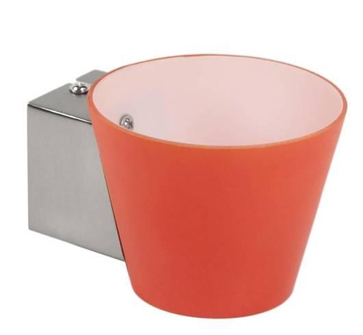 Kinkiet ścienny pojedyńczy pomarańczowy stożek 40W G9 Simonet Candellux 21-05024