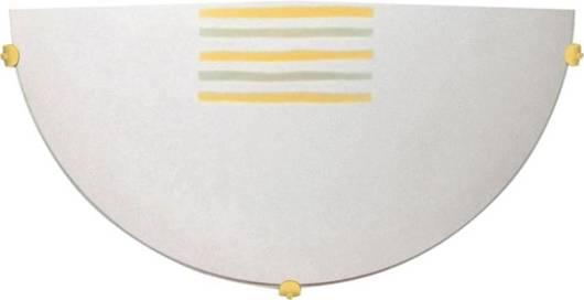 LAMPA ŚCIENNA CANDELLUX WYPRZEDAŻ 11-11643 ZEBRA PLAFON1/2  BI 1X60W