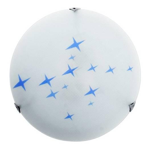 LAMPA SUFITOWA CANDELLUX WYPRZEDAŻ 13-76697 STARS PLAFON30 1X60W E27 NIEB