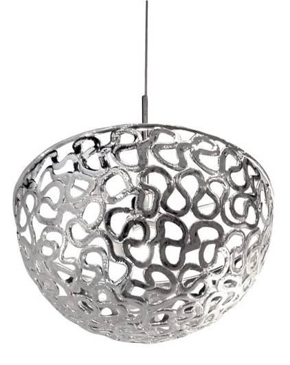 LAMPA SUFITOWA CANDELLUX WYPRZEDAŻ 31-40049 LAME ZWIS 40 1X60W E27 CHROM