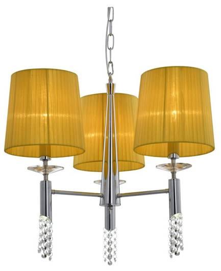 LAMPA SUFITOWA CANDELLUX WYPRZEDAŻ 33-23179 DUAL ZWIS D-51 3X40W E27 + LED ŻÓŁTY