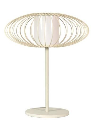 LAMPKA BIURKOWA CANDELLUX WYPRZEDAŻ 41-27460 HIMERA LAMPKA 1X60W E27 BIAŁA
