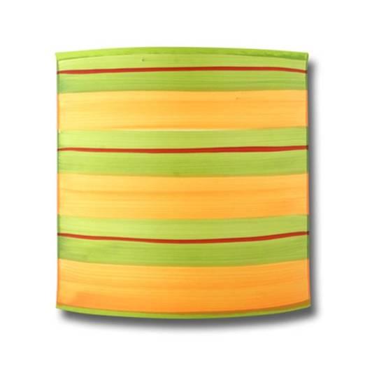 Lampa ścienna kinkiet 1X40W E14 zielony pomarańczowy MAJA 20-80328