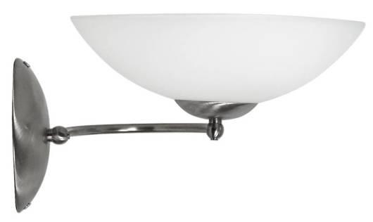 Lampa ścienna kinkiet 1X60W E27 satyna LIDO 21-72194