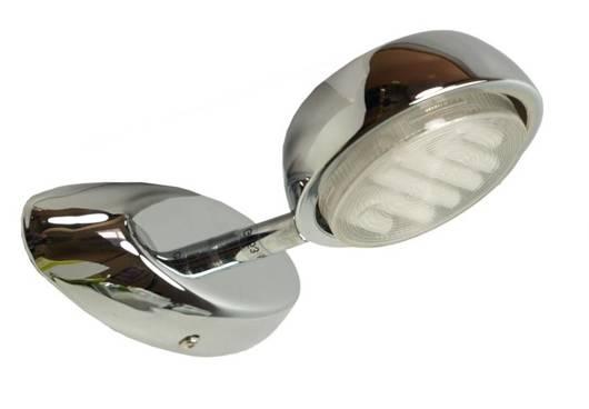 Lampa ścienna kinkiet GX53 1X9W chrom VISION 91-31207