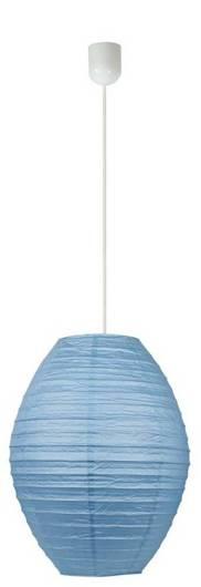 Lampa wisząca papierowa niebieska ul kokon Candellux 31-05687