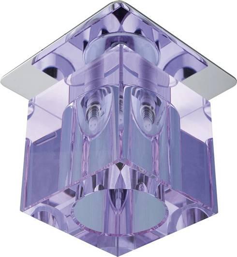 Oprawa stropowa kryształ pas fiolet/chrom G4 20W SK-19 Candellux 2279988