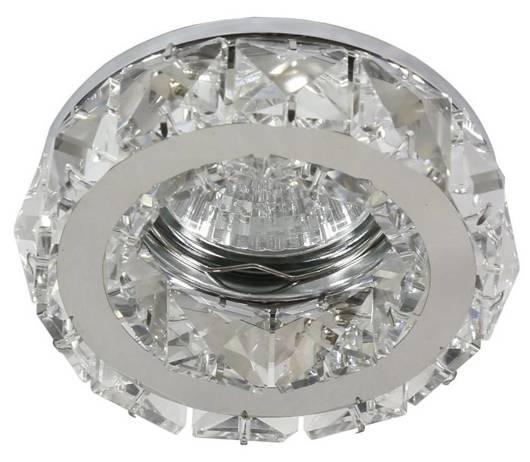 Oprawa stropowa okrągła szklana kryształ MR16 50W SK-83 Candellux 2232652