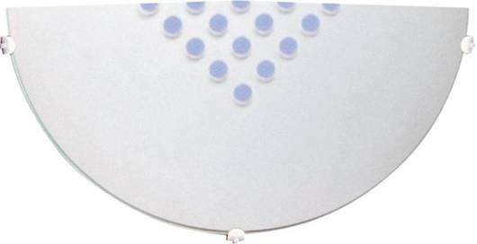 Plafon szklany matowy biały lampa scienna 60W E27 Palina Candellux 11-41886