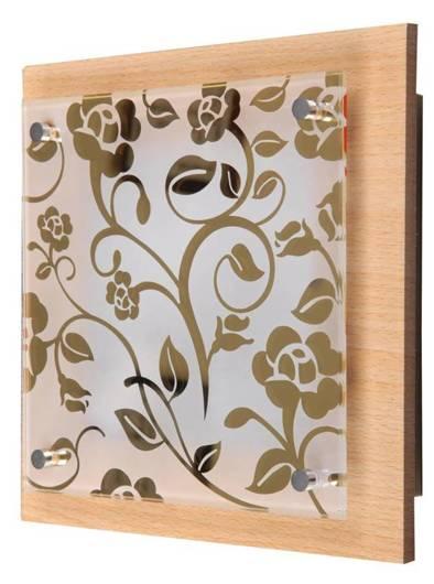 Planta Plafon 24X24 1X60W E27 kwiaty Chocolate Candellux 10-39760